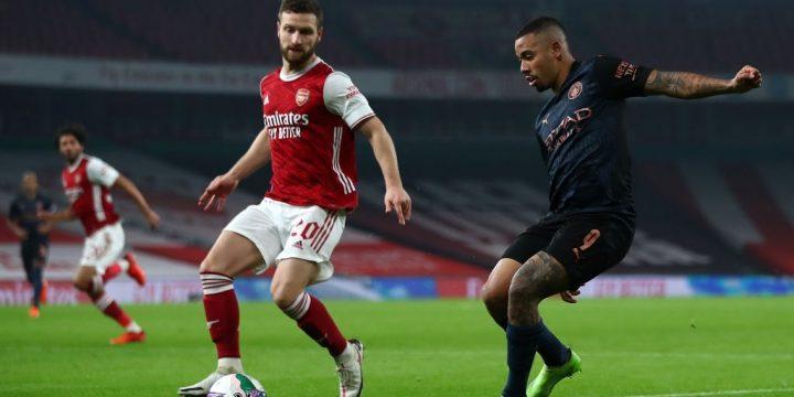 Mustafi đàm phán rời Arsenal để sang Barcelona